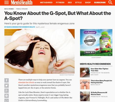 Do you have g spot expert