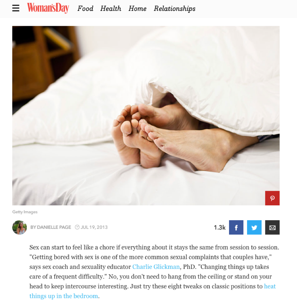 8 Creative Updates to Popular Sex Positions