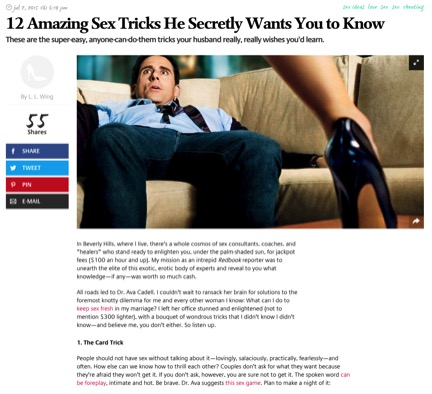 12 Amazing sex tricks he secretly wants you to know